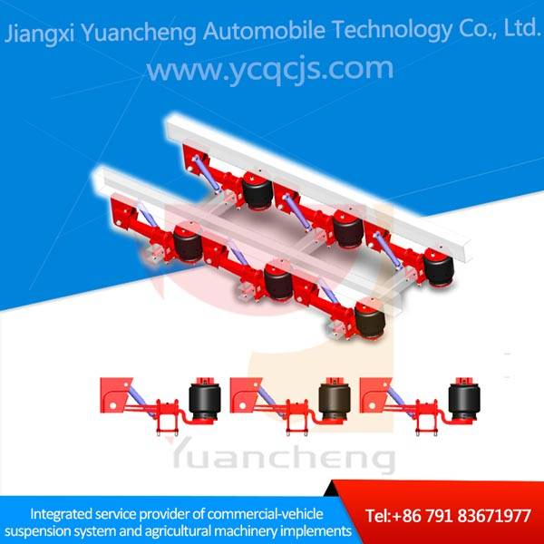 China Factory Semi Trailer Lifting Axle Air Suspension System