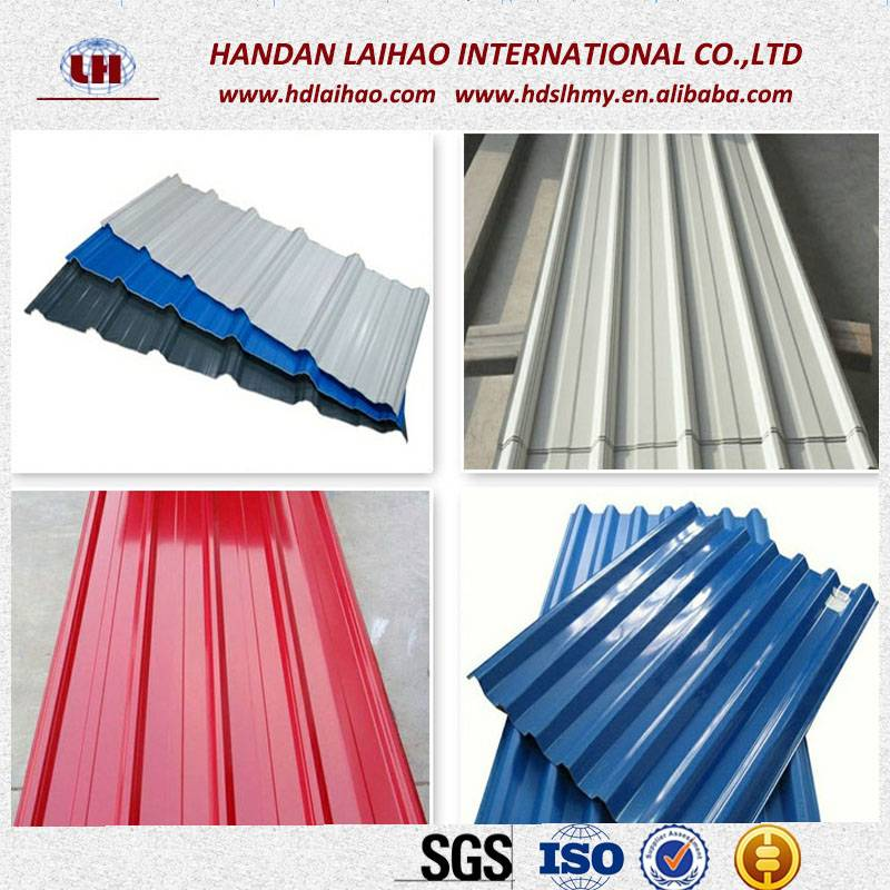 Prepainted Color Galvanized Steel Coil Corrugated Steel Roofing Sheet