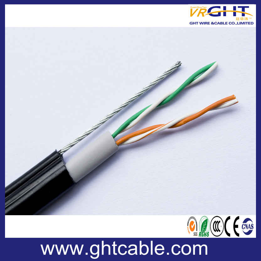 Telecommunication Cable /2 Pair Telephone Cable Cat3