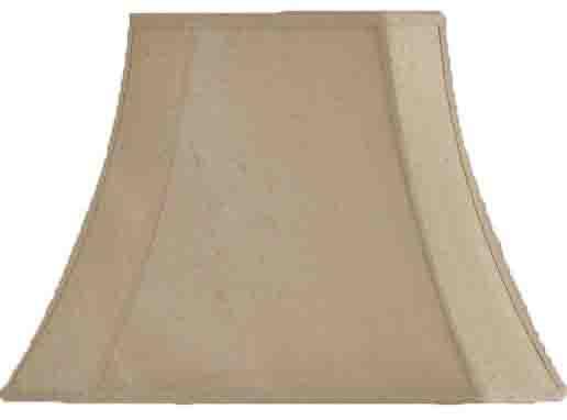 cut corners rectangle lampshade