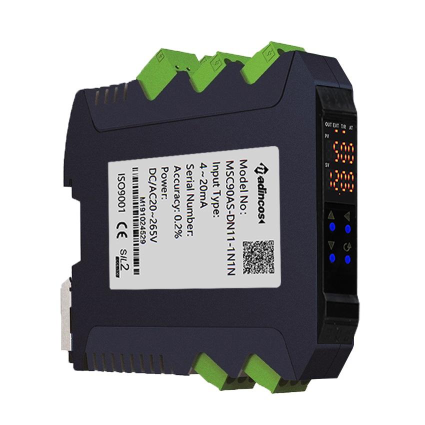 MSC90AS Smart Digital LED Dispplay Programmable Unviersal Analog Signal Isolator Converter
