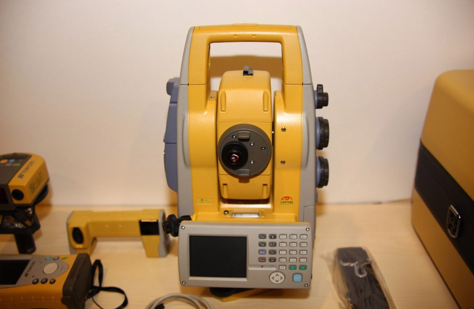 "Used Topcon IS-02 1"" Robotic Imaging Total Station, complete"