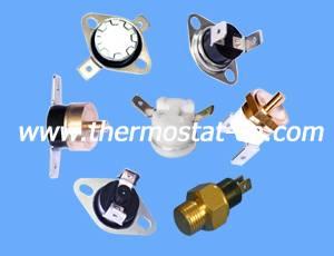 KSD301 snap-action thermostat, thermal cutout