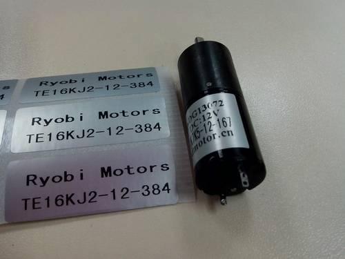 12V Micro DC motor TE16KM-12-384