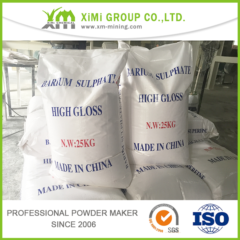 Natural Barium Sulphate D50 2 micron for plastic masterbatch usage