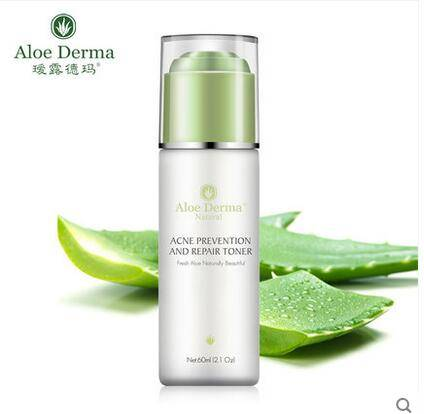 Aloe Vera Acne Prevention and Repair Toner, Oil Control skin toner