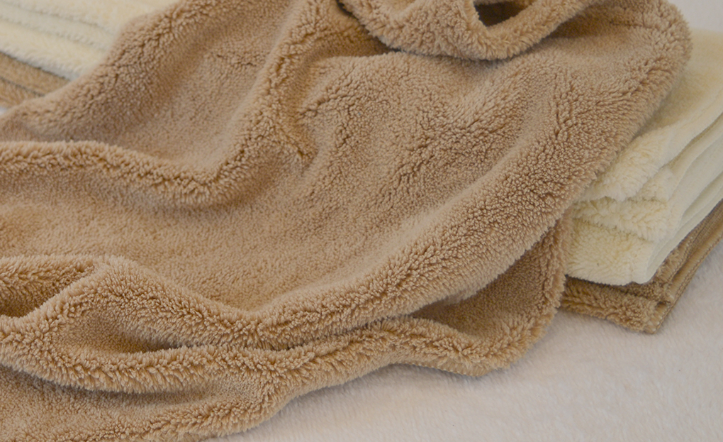 Microfiber Soft Fluffy Fleece Coral Bath Cloth Towel