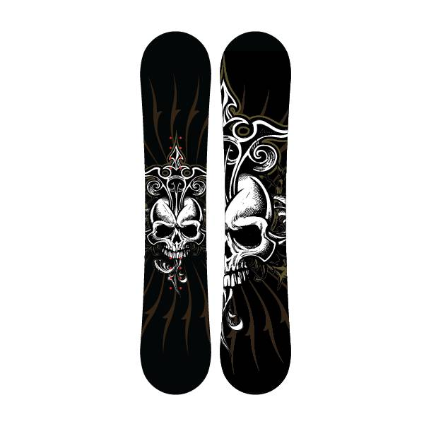 OEM wholesale freestyle snowboards