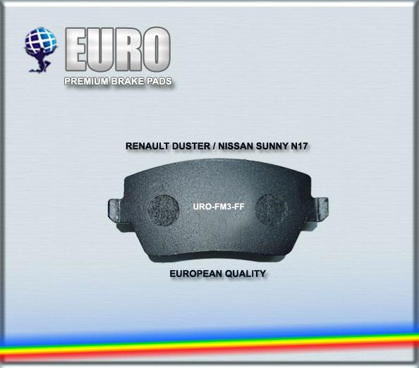 Brake Pad Set For Renault Duster& Nissan Sunny N17