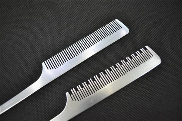 Aluminum flat magic hair comb/hair brush