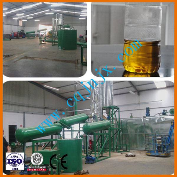JNC Waste engine oil and black oil  Regeneration diesel oil equipment