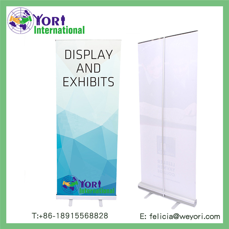 YORI promotion roll up for advertising aluminum banner stand