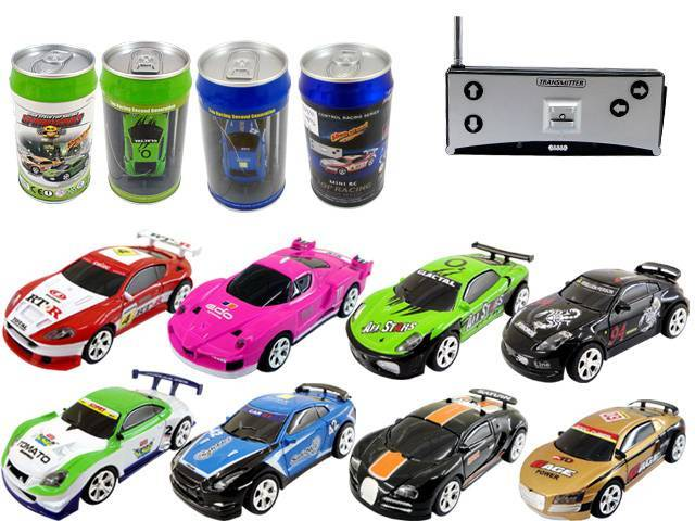Shenqiwei  1:52 Mini RC Cars  with cola can packing