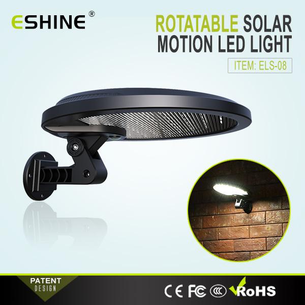3W Solar LED Wall Light Supported Motion Detect Garden Light