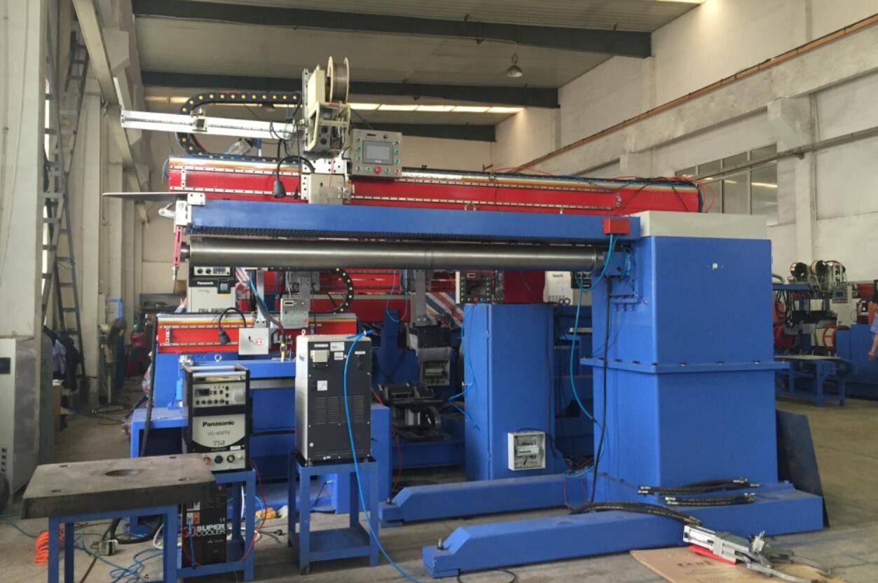 TIG welding longitudinal welding machine for galvanised steel