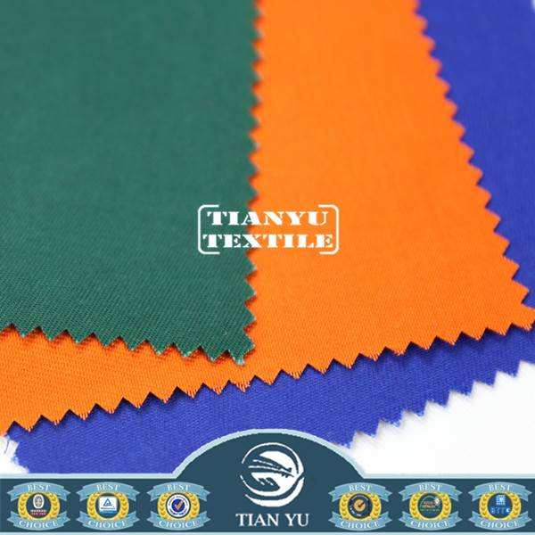 CVC 60% Cotton 40% Polyester Coverall Fabric in Oeko-Tex Standard 100