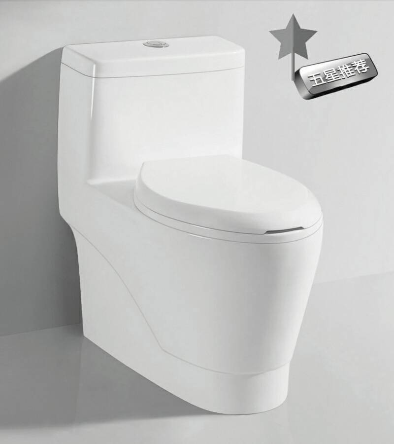 TA-8156 Sanitary Ware Dual Flush Siphon Jet Flushing One-piece Ceramic Toilet