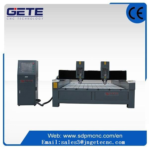 high quality two head  stone cnc router