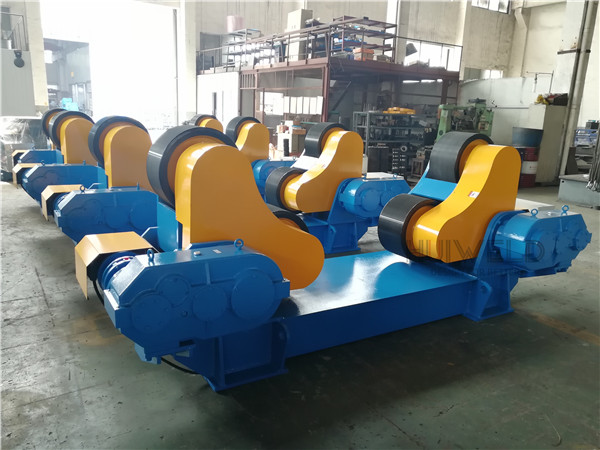 Automatic Adjusting Pipe Welding Rotator Self Aligned Roller Bed