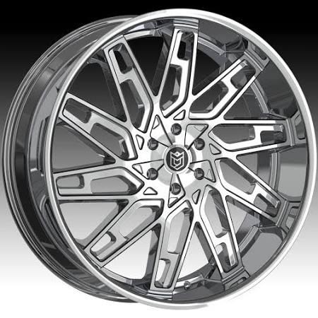 "Dropstars 656C Chrome Custom Wheels Rims 26"" 6x5.5"