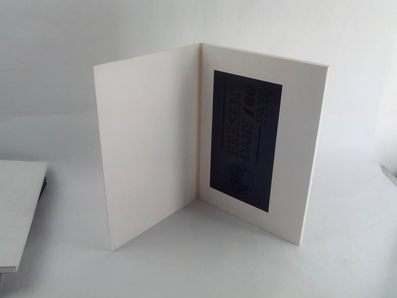 factory supply 10.1inch LCD video book/video brochure with 4G memory, A4 size
