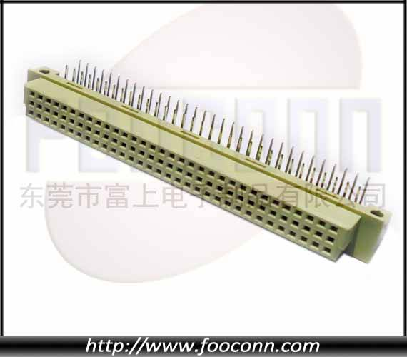 DIN41612 Connector 64Pin Famale Right Angle DIP
