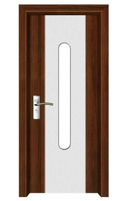 New design steel security mdf door (MP-041)
