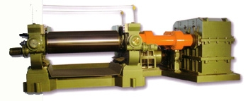 two roll mixing mill ( Bearing Type )