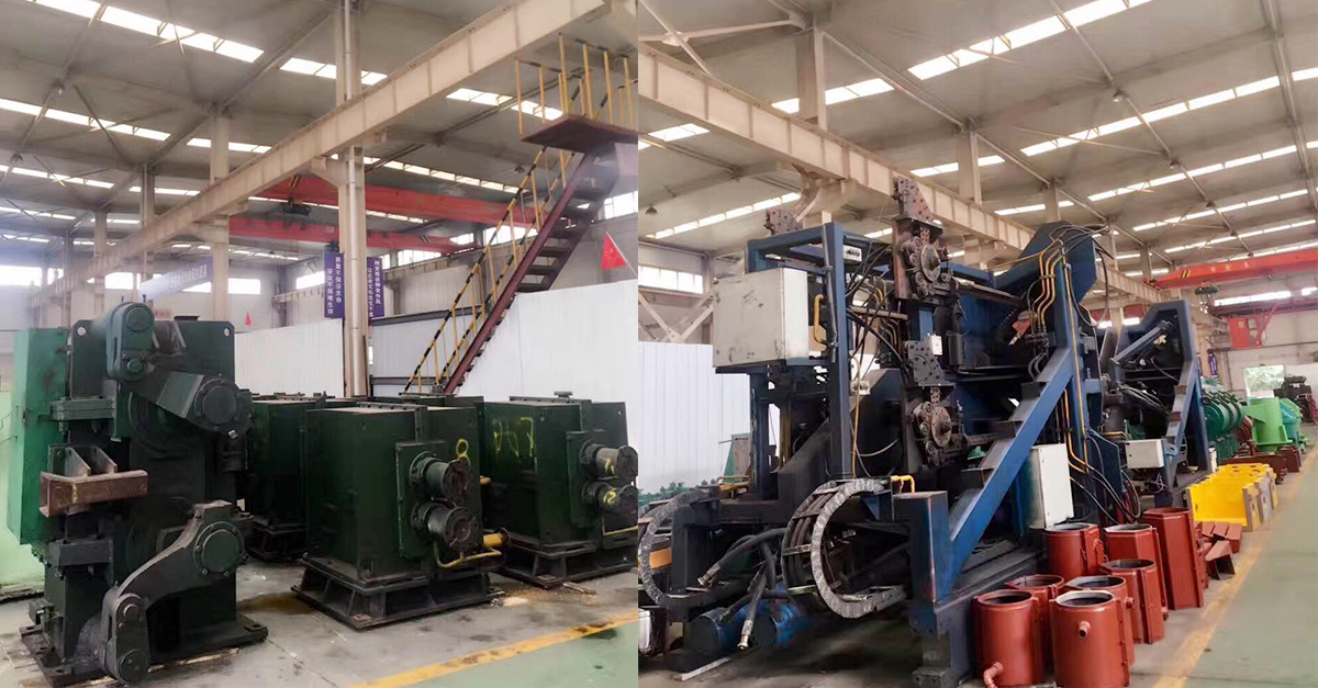 Secondhand rebar wire rod rolling mill plant for sale