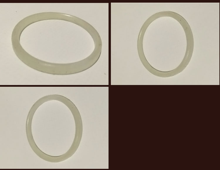 supply rubber sealing o-ring silicone NBR EPDM