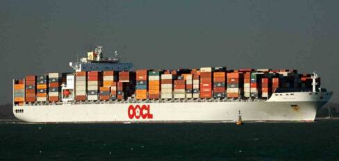 Miami Norfolk USA FCL Shipment By OOCL COSCO carrier