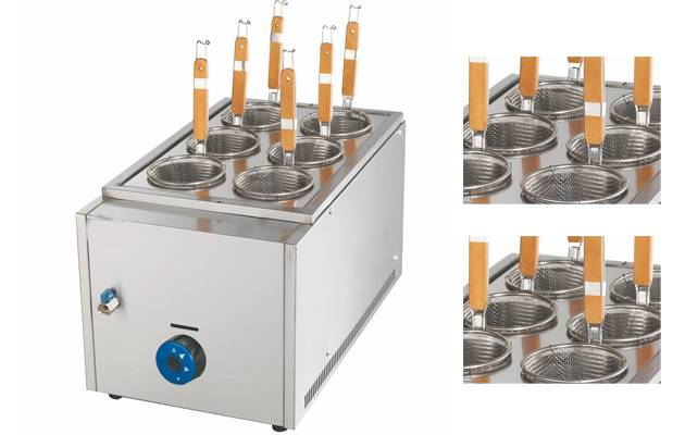 Counter Top Gas Noodle Broiler Machine