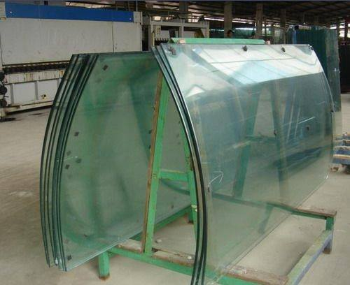 Hot bending glass, hot bent glass, hot bent laminated glass
