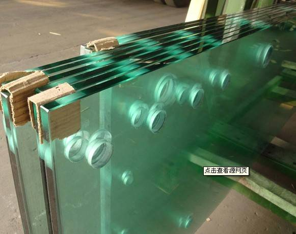 8mm 10mm 12mm Tempered glass for building
