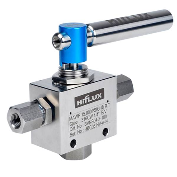 HIFLUX - High Pressure 2-Way Trunnion Ball Valve