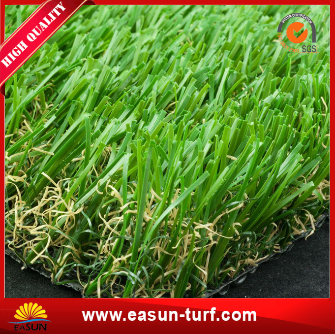 PE landscaping artificial lawn grass for garden and roof-AL
