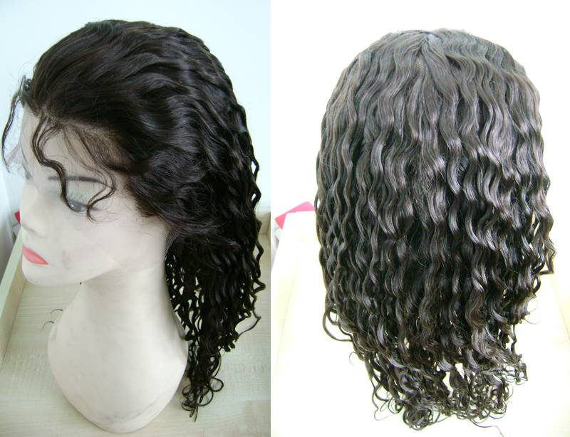 Wholesale Cheap Human Hair U Part Wig Unprocessed Right part Peruvian virgin hair U part lace wig Wi