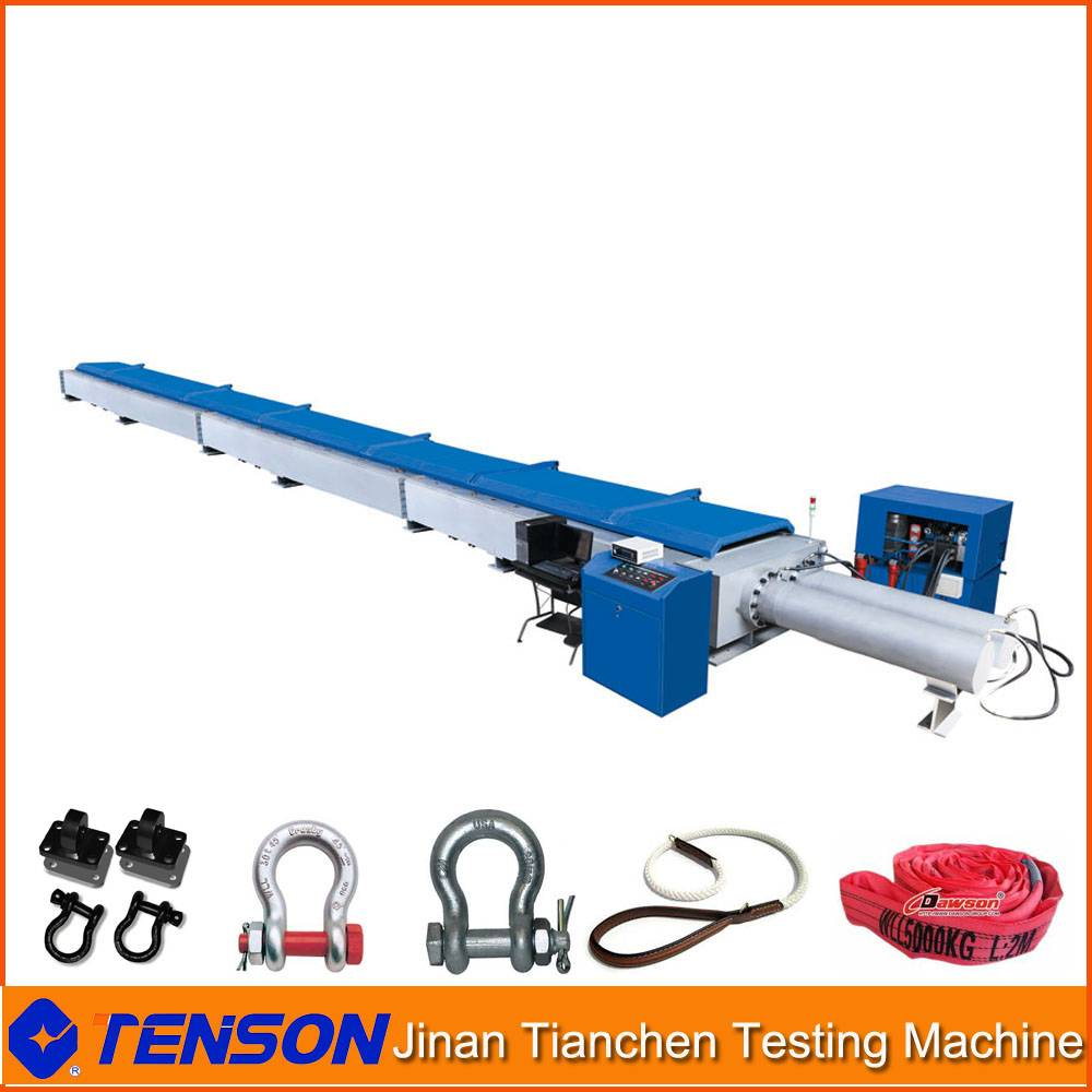 Horizontal Shackle Tension Testing Bed Electro-Hydraulic Servo Type