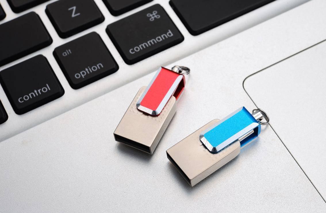 Hot saler Portable metal OTG USB2.0 USB flash drive with COB