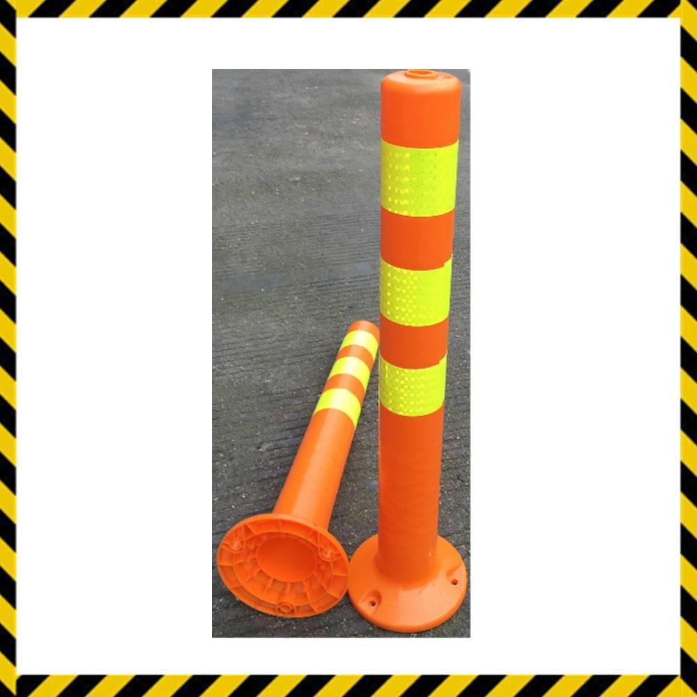road street car parking lift warning post