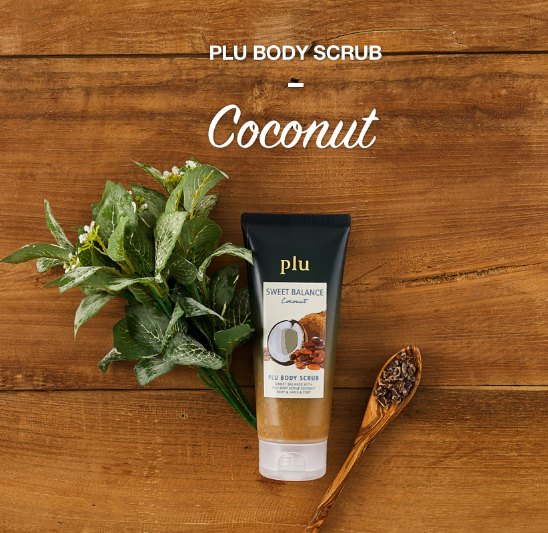 All in one Body scrub with coconut oil of Korean cosmetic