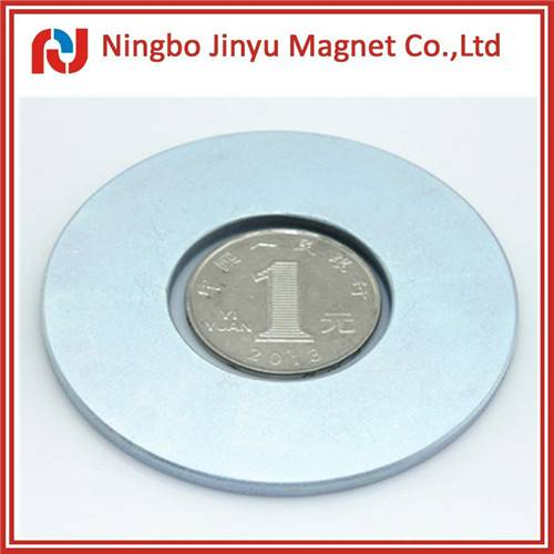 Zinc coated n52 ring neodymium magnet for sale