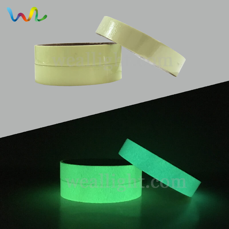 Glow In The Dark Tape, Photoluminescent Tape, Marking Tape, Glow In The Dark Vinyl, Luminous Tape