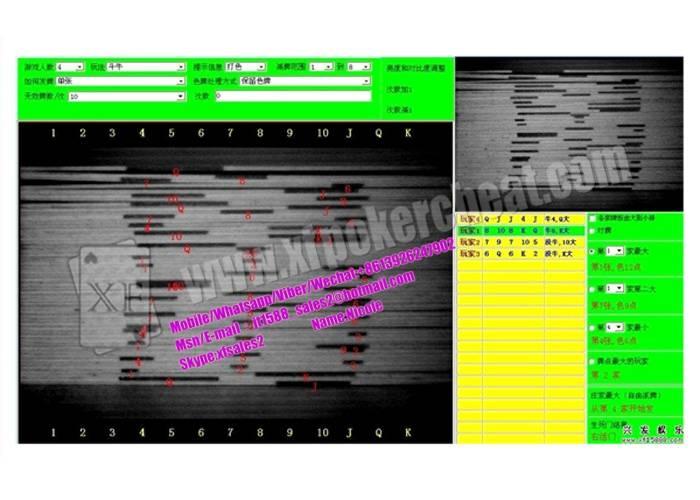 PC Poker Analysis Software For Playing Flush Game / Black Jack Poker Game