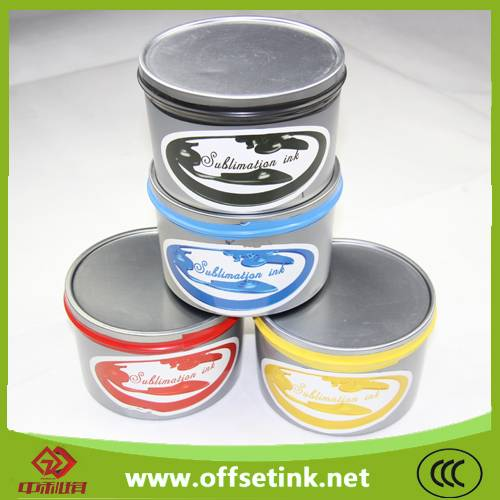 Made in China sublimation offset ink for Offset Printing
