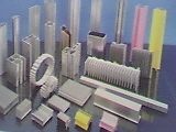 Aluminium extrusion for Industrial
