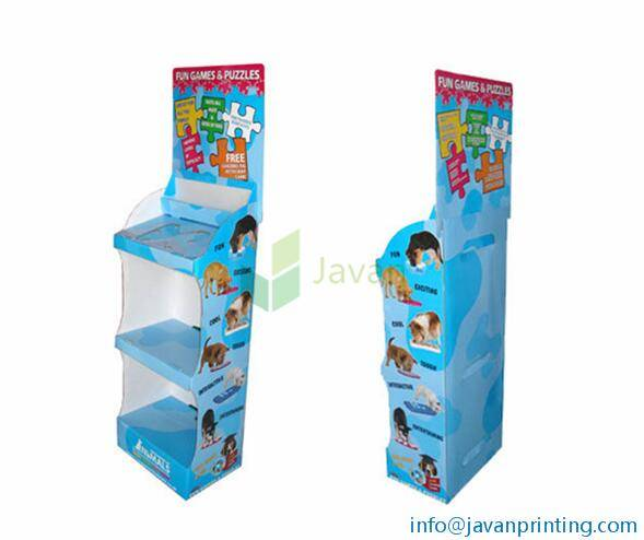 Animal Toys Cardboard POS Displays Stands