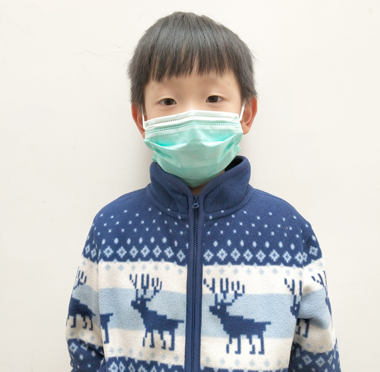 3ply Disposable protective mask for children CE&FDA