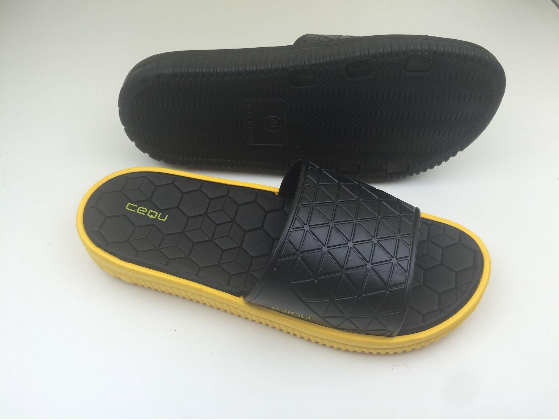 High Quality Men EVA slipper Summer Black Sandals