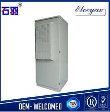 SK-291 23U galvanized metal enclosure with 19 inch rack/electrical equipment outdoor cabinet with ai